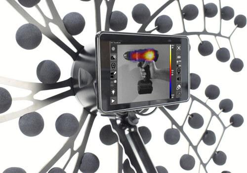 fältmässig akustisk kamera
