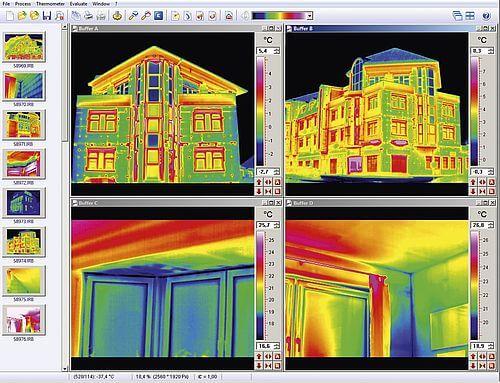högupplösta termiska bilder