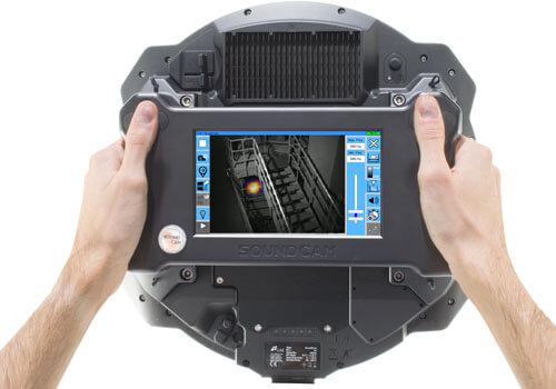 ljudkamera ultraljud