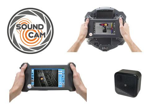 SoundCam mjukvara