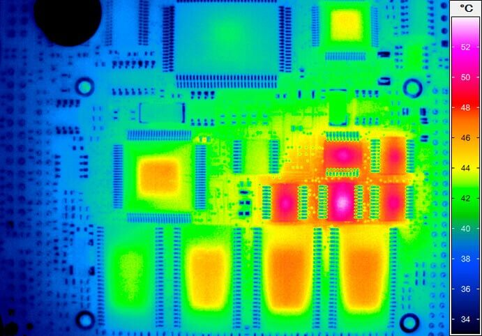 Termisk optimering infraröd kamera