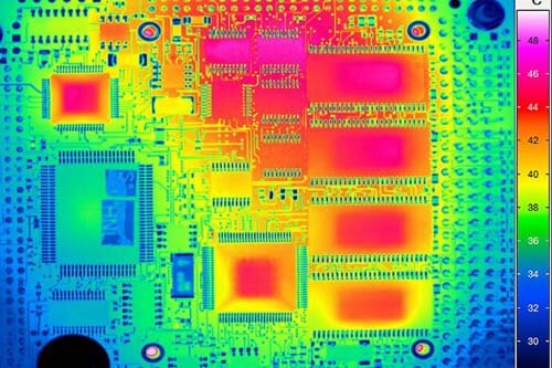 Termografi elektronik