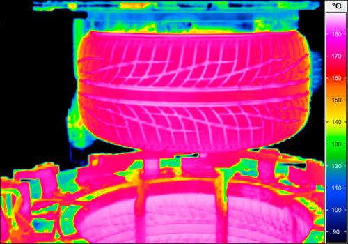 däck infraröd kamera