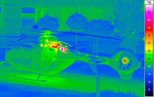 helikopter infraröd kamera