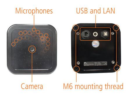 ultra sensor ljudkamera