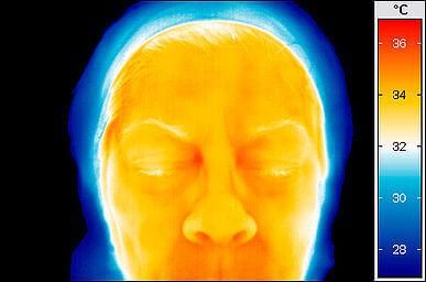 temperatur i ansikte