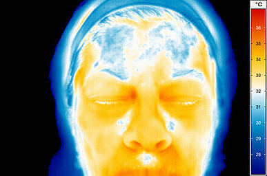 infraröd kamera ansiktstemperatur